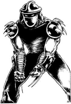 Shredder from Teenage Mutant Ninja Turtles TMNT Ninga Turtles, Ninja Turtles Art, Teenage Mutant Ninja Turtles, Shredder Tmnt, Comic Book Villains, Comic Books, Turtles Forever, Small Turtles, Renaissance Artists