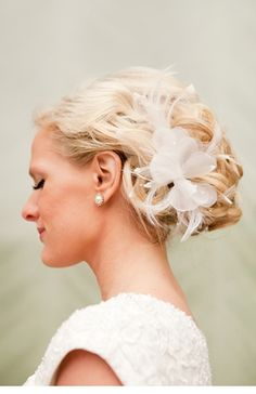 wedding hair(: