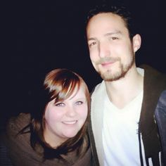 Me and Frank Turner. Castle Theater. Bloomington, IL. 24.2.12