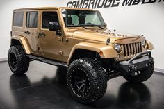 "2015 Jeep Wrangler Unlimited Sahara with 350 miles, 3.5"" Rough Country Lift, 20x12 KMC XD Heist Wheels, 35"" Tires, UnderCover Tonneau Covers Nighthawk Light Brow, Iron Cross Front and Rear Bumpers, and more!"