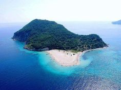 Zakynthos Marathonisi islet: The islet of Marathonisi is placed across the beach of Keri, in Laganas bay.