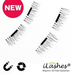 Luxury iLashes® Reusable Magnetic False Eyelashes (Get 2 for price of 1)