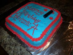 My daughters bday cake,  pretty little liars theme