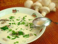 Zupa z serków topionych z pieczarkami - Smakowite Dania