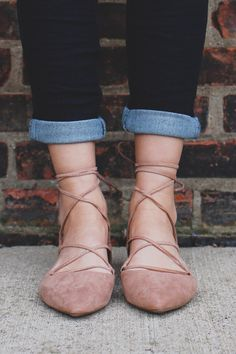 Taupe Almond Toe Lace Up Faux Suede Flat Pika-03 – UOIOnline.com: Women's Clothing Boutique