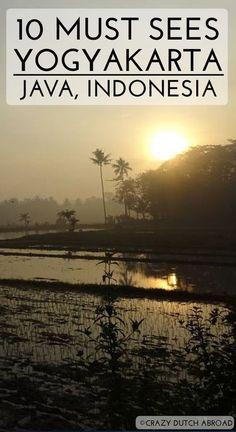 10 must sees in Yogyakarta, Java! Prambanan temple, Borobudur temple, Ramayana Ballet in Prambanan, Taman Sari Water Palace and more! http://www.crazydutchabroad.com/destinations/Asia/Indonesia/Flores/ digital nomad | work online | travel the world | dutch | fun | traveler | travel blogger | dream destination | traveling | inspiration | adventure | explore | backpacking | vacation | tourism | leisure | tourist | travel addict | holiday | crazy dutch abroad