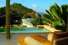 Den Alltag hinter sich lassen - Ferienhaus für bis zu 4 Personen auf Palm Island (St. Vincent & Grenadinen) in der Karibik. Objekt-Nr. 3021873