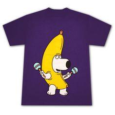 Family Guy Banana Brian T-Shirt