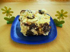 Gyümölcsös-túrós rakott kifli Muffin, Breakfast, Food, Morning Coffee, Meals, Muffins, Yemek, Morning Breakfast, Eten
