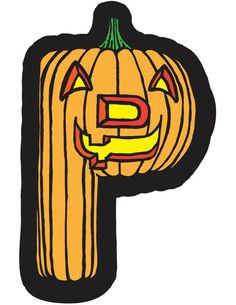 P Pumpkin Alphapet by Brendan Klos