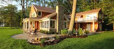 Michigan Lakefront Property built by Cottage Home