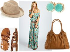 What I'd Like to Wear Wednesday: Boho Summer Look