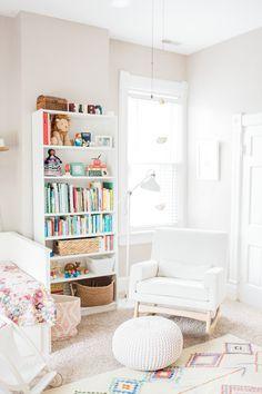 colorful, whimsical, girl, toddler, nursery room