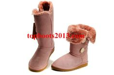 1873 Bailey Button Triplet Classic Boots UGGs Wholesale Pink