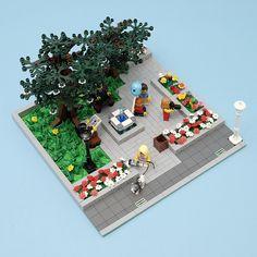 LEGO Ideas - Garden on Main Street