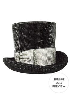 Top Hat Crystal Clutch from Judith Leiber on Gilt test