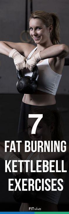 7 Fat Burning Kettlebell Exercises