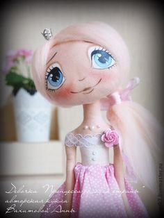 """Коллекционные куклы ручной работы. Ярмарка Мастеров - ручная работа Девочка """"Принцесса розовой страны"""". Handmade."""