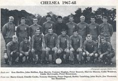 Team pics 1968-1975 Chelsea Fc Team, Chelsea Football, Team Pictures, 1960s, Legends, Soccer, Club, Painting, Football
