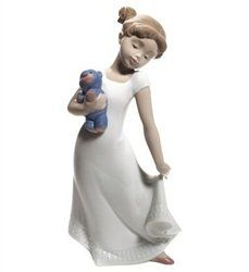 Nao by Lladro Collectible Porcelain Figurine: AM I ELEGANT? | http://www.cybermarket24.com/authentic-nao-by-lladro-collectible-porcelain-figurine-am/