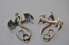 Other – the great dragon- metal charm – a unique product by thesecretgarden on DaWanda