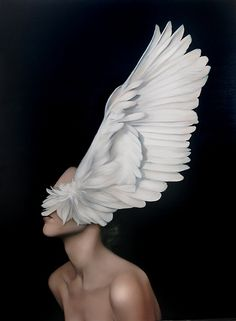 Amy Judd - Art - Peinture - Portrait - Animaux - Girls and birds Arte Peculiar, The Wicked The Divine, Art Occidental, Art Du Monde, Foto Fashion, Style Fashion, Realistic Paintings, Fantasy Makeup, Art Inspo