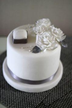 슈가크래프트. 프로포즈케이크.propose cake♡ by peekaboos