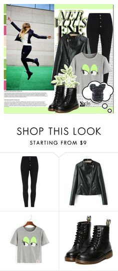 """""""SheIn #3 (V)"""" by cherry-bh ❤ liked on Polyvore featuring WithChic, women's clothing, women, female, woman, misses, juniors and shein"""