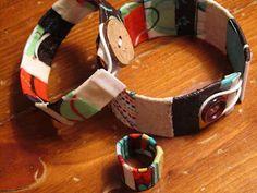 Twelve Crafts Till Christmas: matching soda can ring tutorial