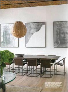 Alison Van Pelt Art: C Magazine: Jenni Kayne's beautiful home, Alison Van Pelt paintings, oil on canvas