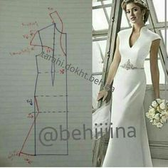 Couture Sewing Vestido Formal Clothing Patterns Dress Patterns Sewing Patterns Techniques Couture Sewing Techniques Make Your Own Dress Panel Dress Sewing Dress, Dress Sewing Patterns, Blouse Patterns, Sewing Clothes, Clothing Patterns, Diy Clothes, Blouse Designs, Wedding Dress Patterns, Fashion Sewing