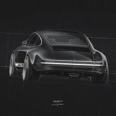 050817 | And the back ! #dailycarsketchchallenge #car #cardesign #carsketch #cardesigner #auto #sketchbook #interiordesign #conceptcar #dailysketch #hypercar #carrendering #cardrawing #cars #supercars #supercar
