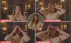 Anastasia Achilleos teaches you how to remove eye bags in seconds | Daily Mail Online