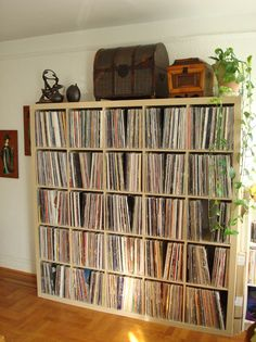 Options For Archiving and Storing Vinyl Record Collections | POPSUGAR Home Photo 8
