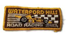 Vintage Waterford Hills Road Racing Race Track Michigan Detroit Dragway Hot Rod