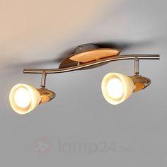 LED-spot Marena, 2 ljuskällor, E14 R50