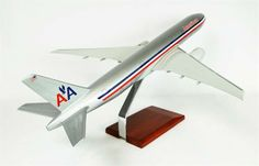 B777-200 American - Premium Wood Designs #Commercial #Aircraft premiumwooddesigns.com