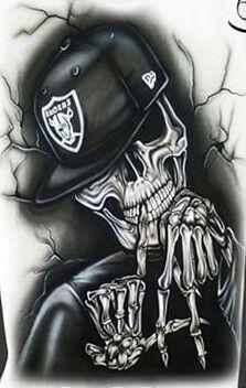 LA Skull head