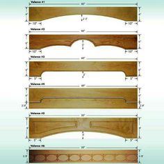 window wood valances for windows Wooden Window Valance, Wooden Cornice, Wood Valances For Windows, Kitchen Window Valances, Window Cornices, Wooden Windows, Wood Blinds, Window Coverings, Kitchen Cornice