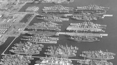Pacific Mothball fleet, San Francisco 1958 [1200x669] - Imgur