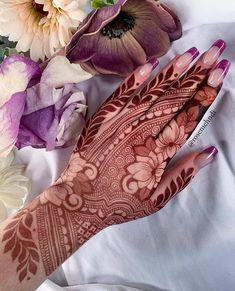 Rose Mehndi Designs, Basic Mehndi Designs, Back Hand Mehndi Designs, Latest Bridal Mehndi Designs, Mehndi Design Photos, Mehndi Designs For Fingers, Mehndi Images, Henna Tattoo Designs, Mehandhi Designs