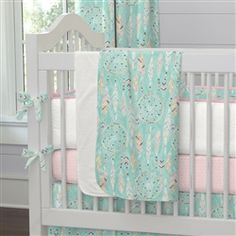 Dream Catcher Crib Bedding Endearing Dream Catcher Crib Bedding I Carousel Designsthe Charm Of The 2018