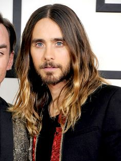 Look We Love: Jared Leto's Ombré Waves at the Grammy Awards: Daily Beauty Reporter :  There's a red-carpet darling every awards season. Last year it was Anne Hathaway. Rooney Mara and Michelle Williams have recently had their turn. And while Lupita Nyong'o may be the obvious front-runner for 2014's favorite, we'd like to put...