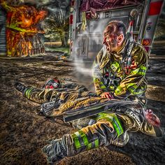 It's rare to resuscitate someone who you have been talking to just moments before. It happens but as Paramedics we usually arrive on scene and our patient is already unconscious. It's much more difficult to have someone who goes from conscious and talking to dead right in front of you. Now image it's your Brother or Sister you were just talking with or working with who dies in front of you. Image the stress, horror and disbelief of that situation. Now on top of that, as a medical...