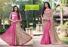 Saree Wedding Pakistani Partywear Ethnic Bollywood Sari Designer Dress Indian #TanishiFashion #DesignerSaree