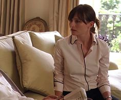 "Pink blouse. From ""Match point"" by Woody Allen."