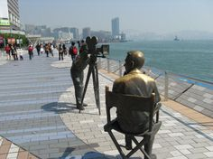 Avenue of the Stars, Hong Kong.  I walked here all the time, loved it.