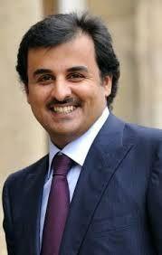 Sheikh Tamim bin Hamad bin Khalifa Al Thani, Emir of the State of Qatar.  Sheikh Tamim bin Hamad Al Thani, born 3 June 1980.  He is the fourth son of the previous Emir of Qatar, Sheikh Hamad bin Khalifa Al Thani. He became Emir of Qatar on 25 June 2013 after his father's abdication.