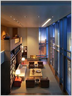 I want floor to ceiling windows like this!