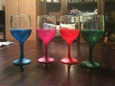 DIY wine glasses with glitter is one of our exciting topics on Fashion Jewelry. Read the full article here on Eternal Sparkles Blog.